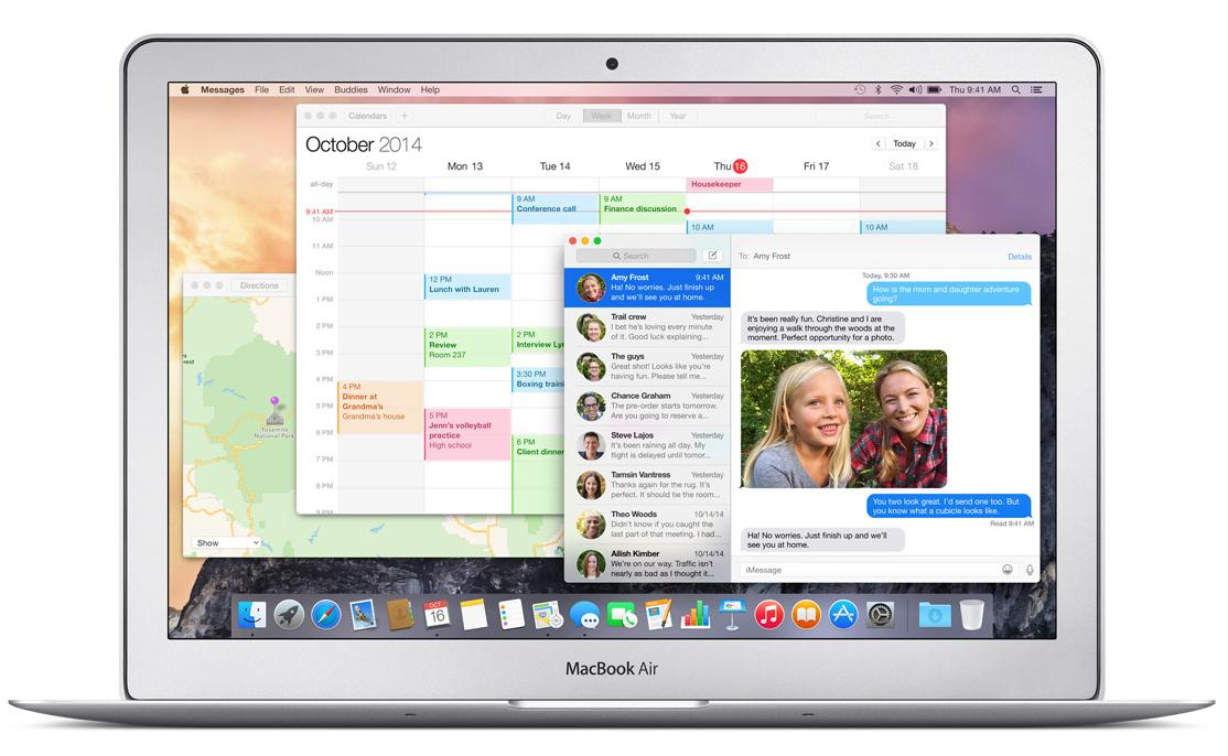 Apple MacBook Air Aplikacje