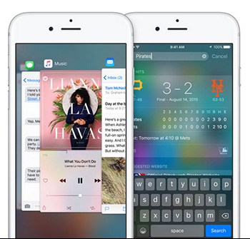 iPhone 6s iOS9