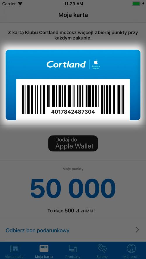 Klubowicze Cortland zyskują więcej!