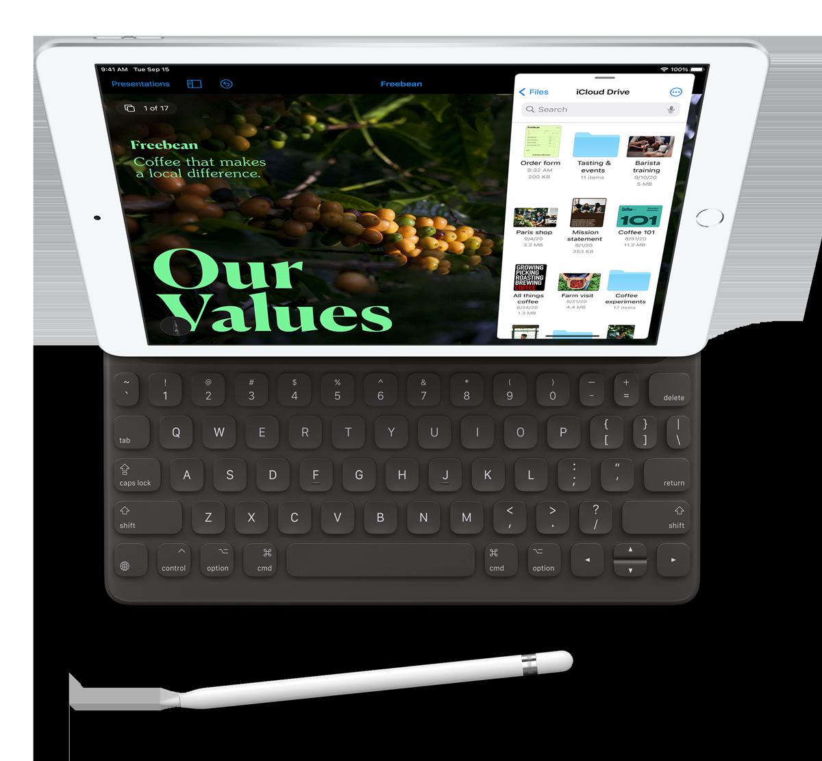 iPad naprezent