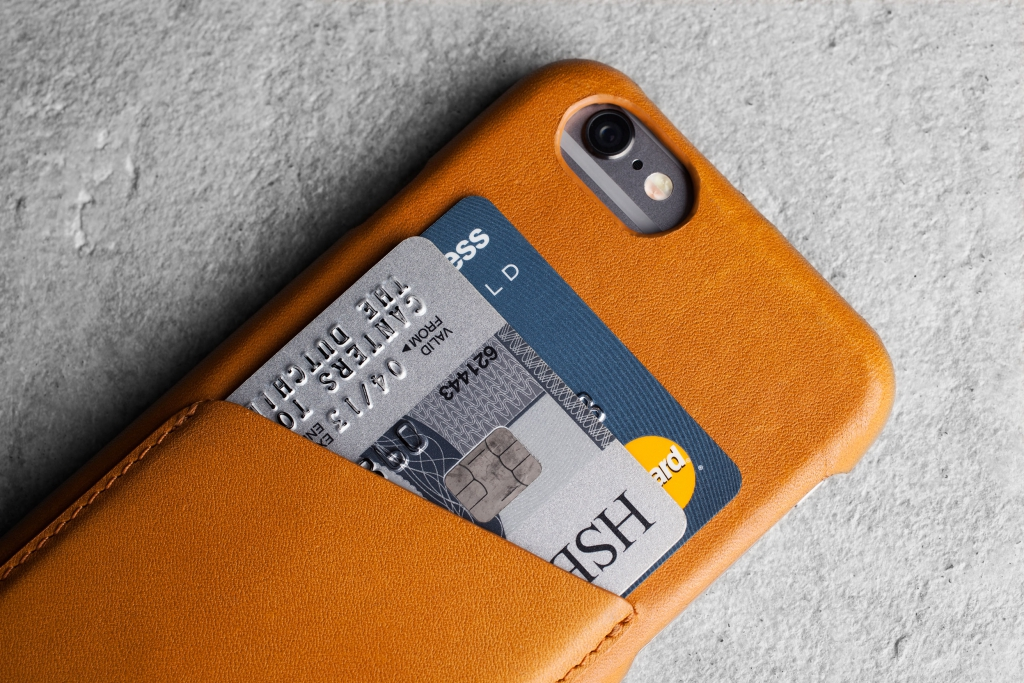 Mujjo Wallet – skórzane etui do iPhone'a.