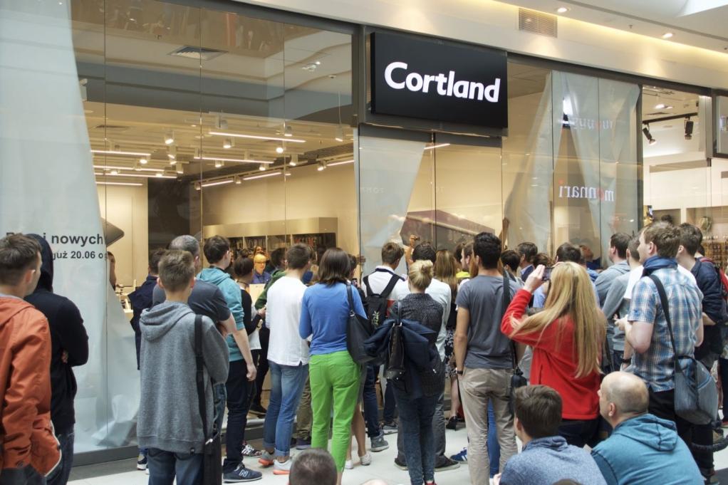 Cortland – nowy punkt w Galerii Malta.