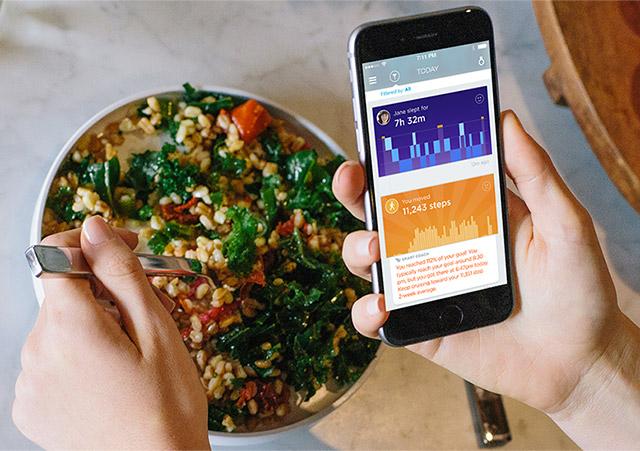 UP by Jawbone najlepsząaplikacją fitnessową według The Verge.