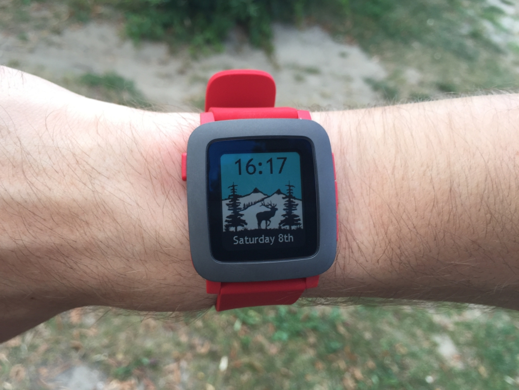 Recenzja Pebble Time.