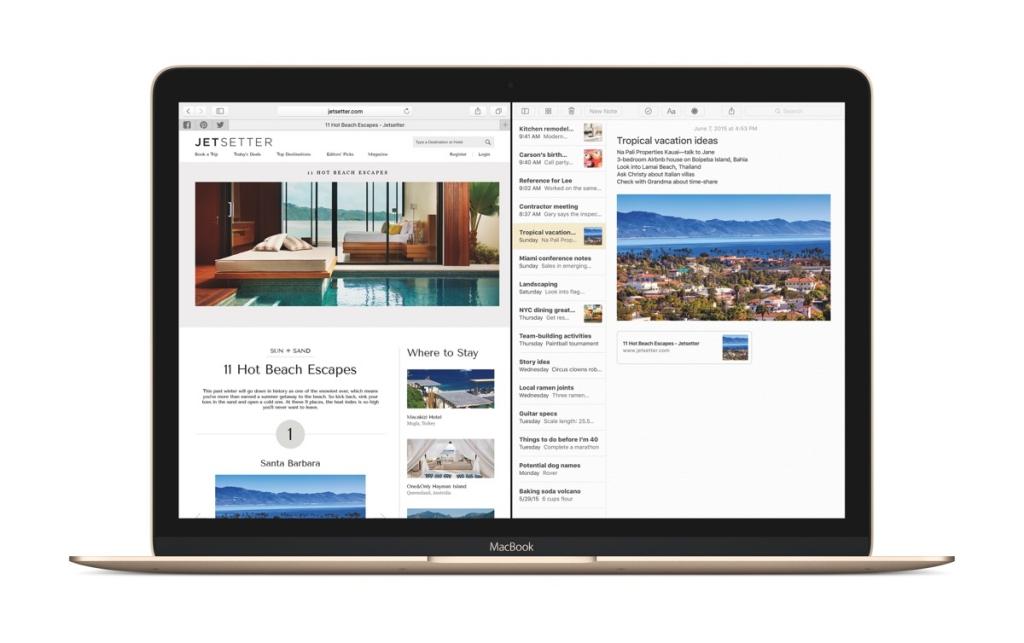 Jak włączyć Split View w OS X El Capitan?