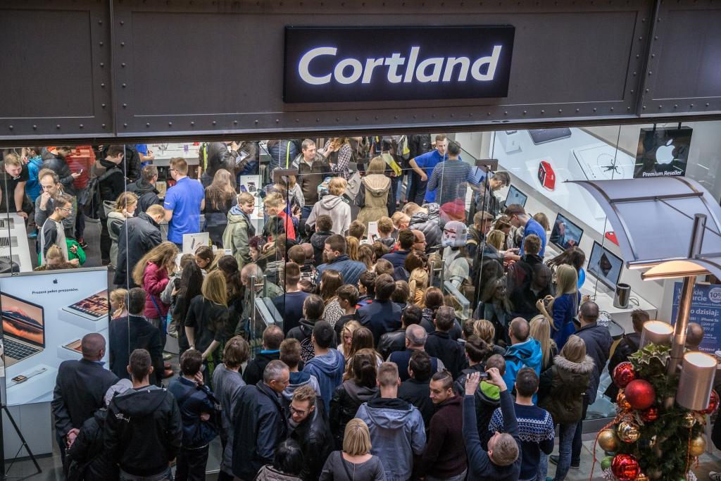 Wielkie Otwarcie salonu Cortland Apple Premium Reseller w Bielsku-Białej.
