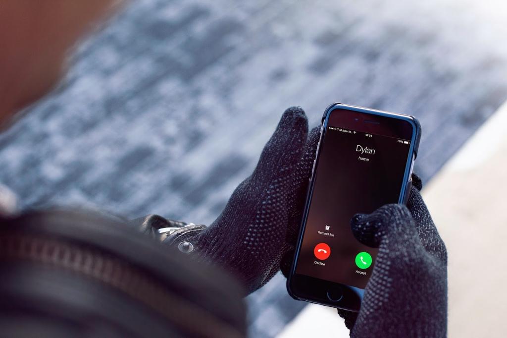 Rękawiczki Mujjo dla ekranów dotykowych