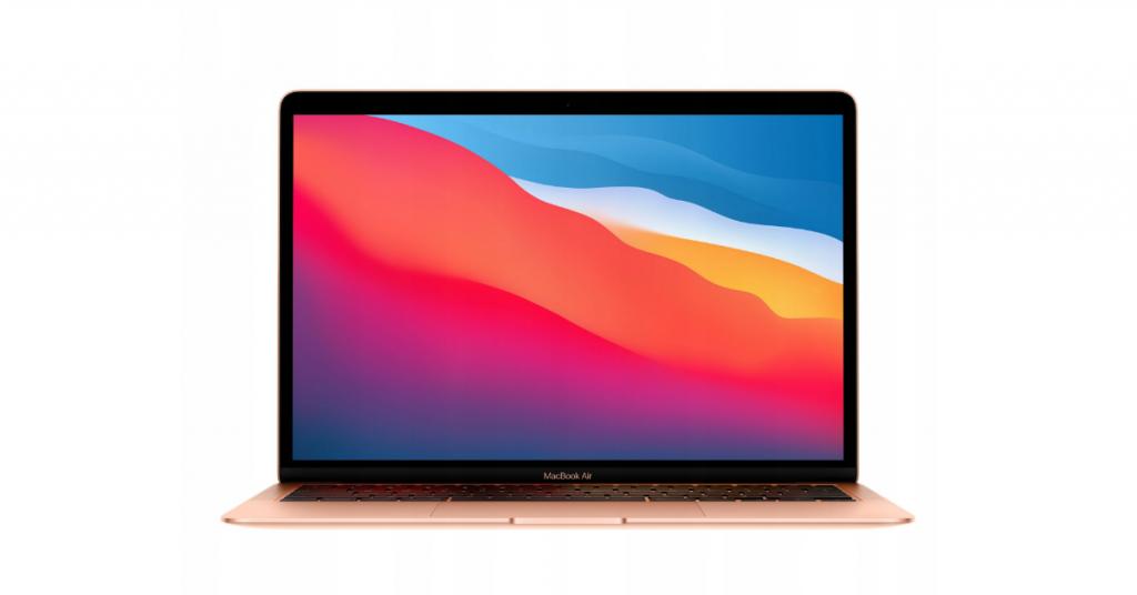Złoty MacBook Air