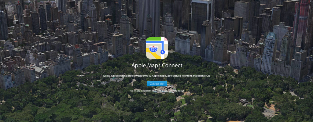 Jak dodaćfirmędo Apple Maps?