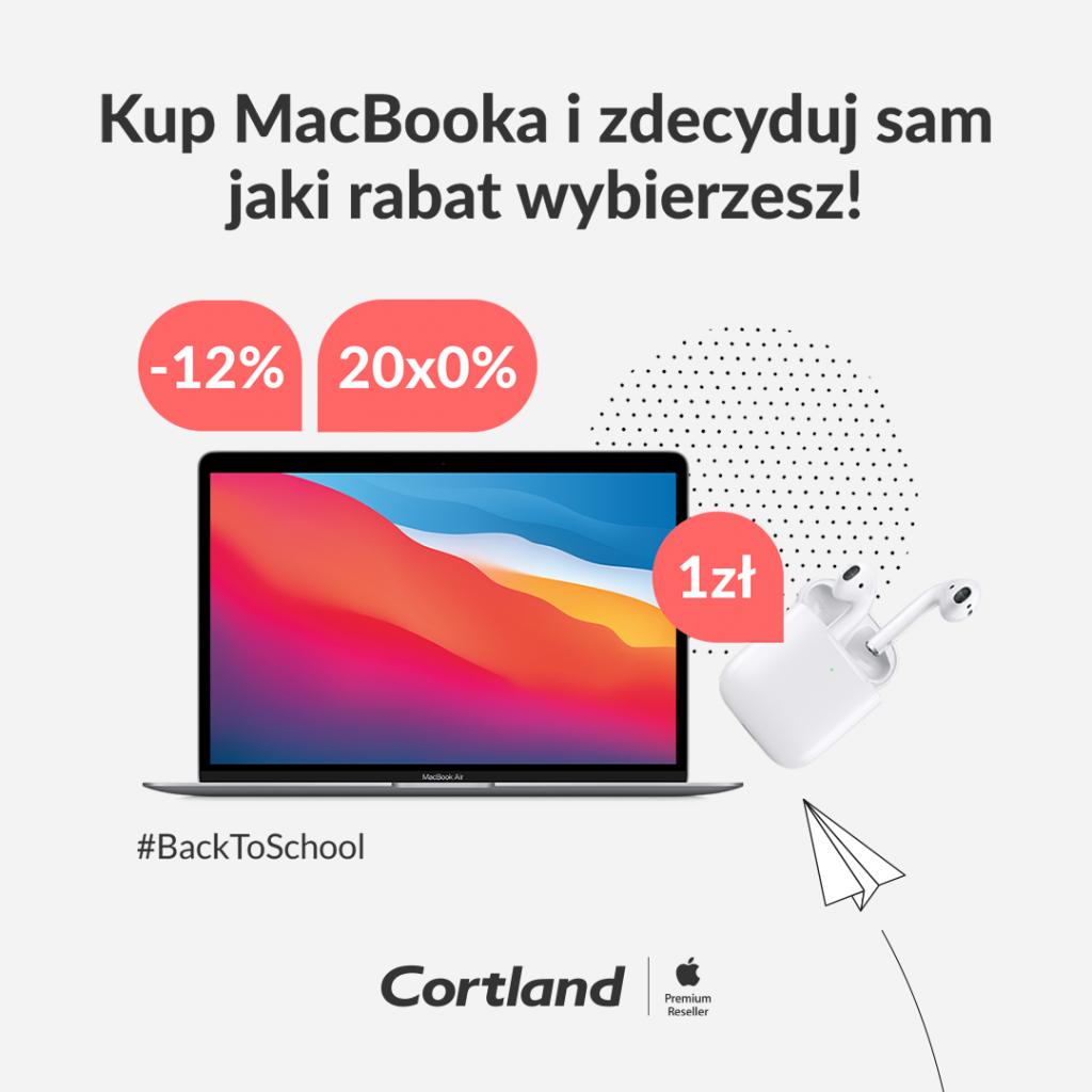 Apple Back to school 2021 - promocje