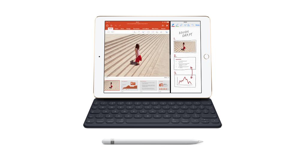 iPad z klawiaturą