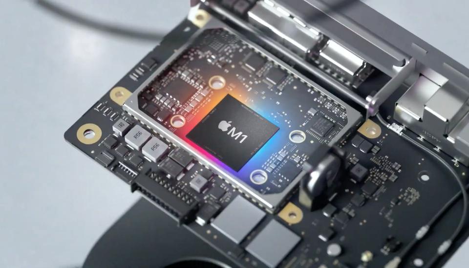 Potęga procesora Apple M1 w nowych MacBookach