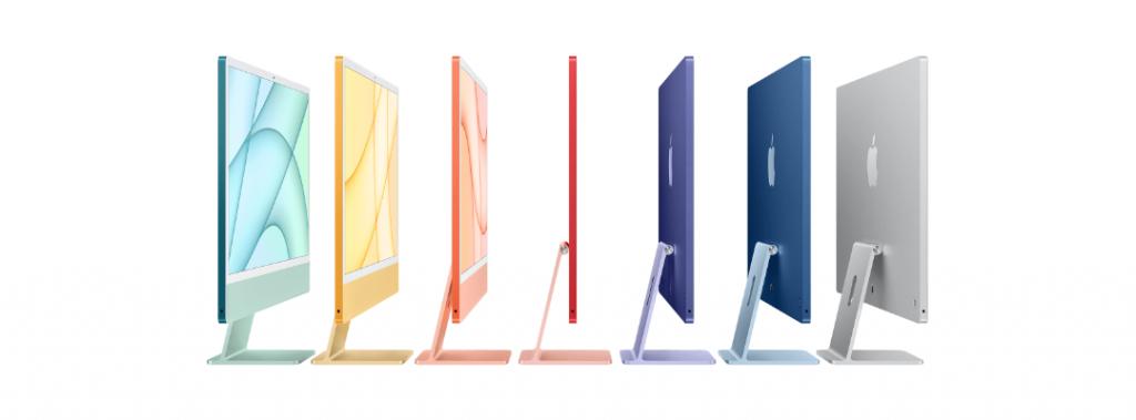 najnowszy kolorowy iMac od Apple