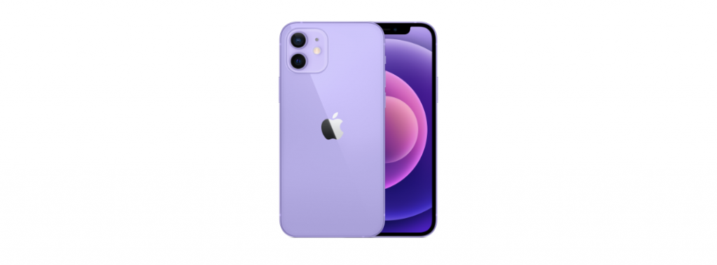 najnowszy fioletowy iPhone 12 od Apple