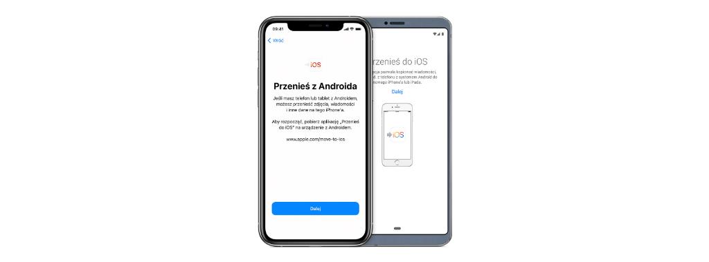Jak przenieść dane z Androida na iPhone'a? Poradnik krok po kroku.