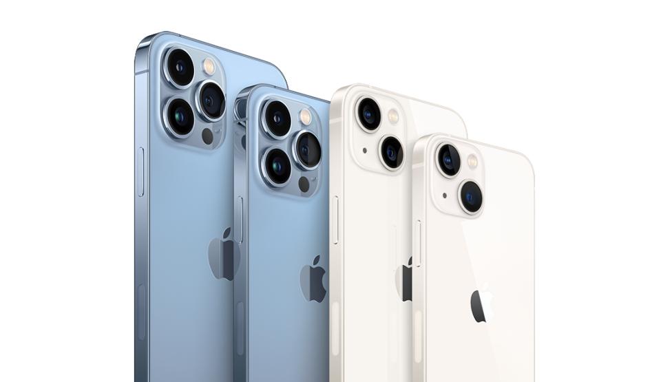 Porównanie iPhone'a 12/12 Pro oraz iPhone'a 13/13 Pro