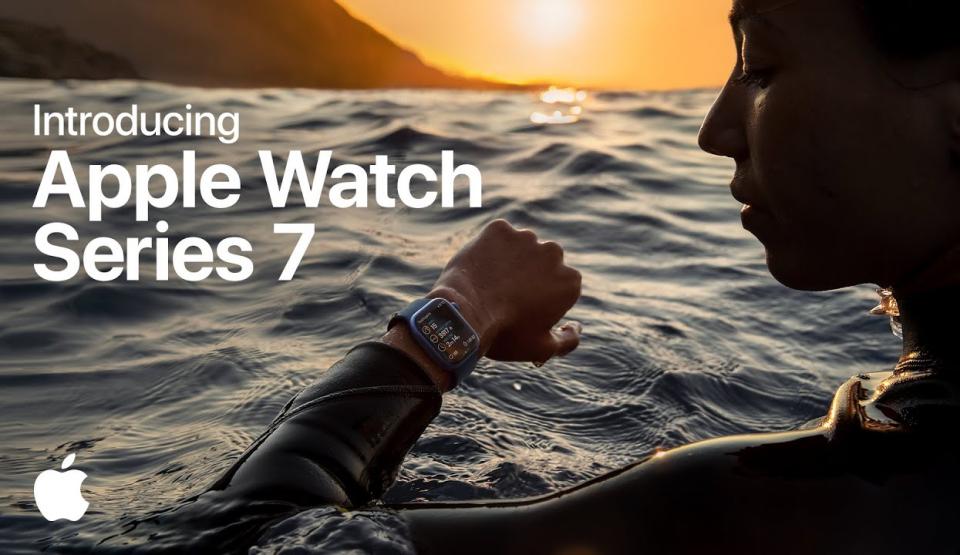 Wszystko o Apple Watch Series 7