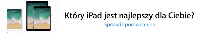 iPad mini 4 w porównaniu z innymi iPadami
