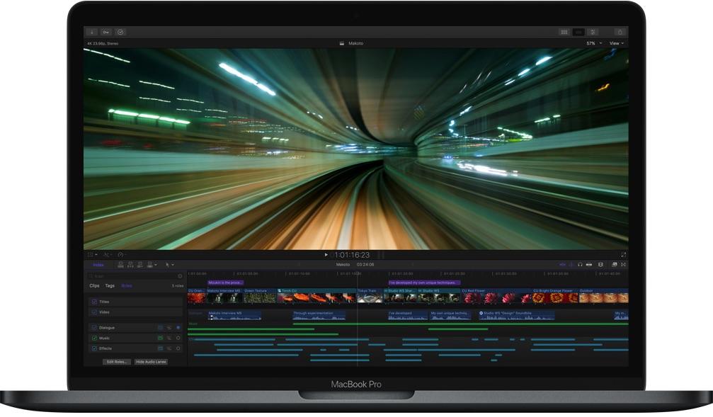 MacBook Pro FCP