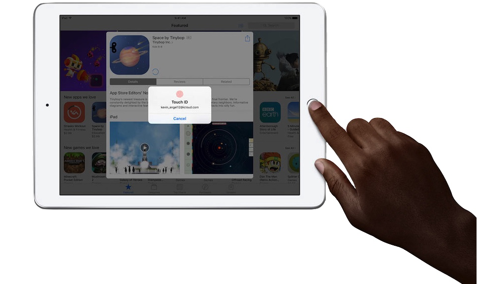 iPad 9,7 2017 TouchID