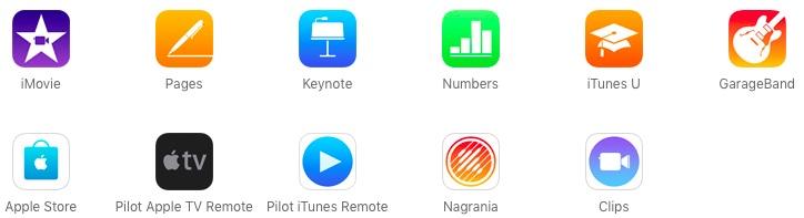 bezplatne aplikacje ios 11