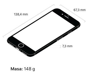 iphone 8 wymiary