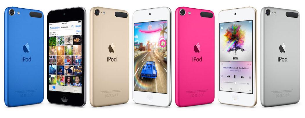 iPod - kolory
