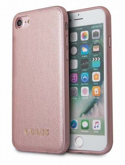 eccfbbb8f7 Guess Iridescent etui do iPhone 8/7 (różowe złoto)   Sklep Cortland ...