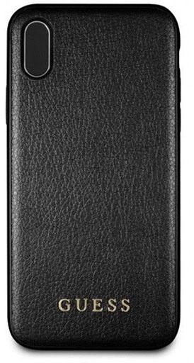 c9b4dec82e Guess Iridescent etui do iPhone X (czarny)   Sklep Cortland Apple ...