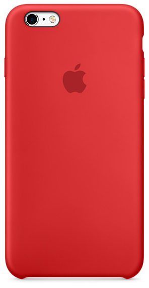 d96889de174f54 Apple Silicone Case etui do iPhone 6/6s (czerwone) | Sklep Cortland ...