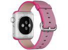 Apple Watch pasek z plecionego nylonu w kolorze różowym