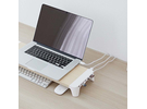 Pout Fast Charging Hub Monitor Stand
