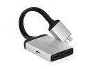 Satechi adapter USB-C do USB-C PD/2xHDMI