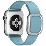 Apple Watch pasek w kolorze zielonomodrym z klamrą nowoczesną