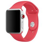 Apple Watch pasek sportowy w kolorze czerwonej maliny