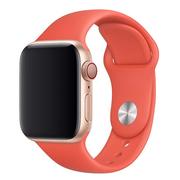 Apple pasek sportowy w kolorze nektarynki