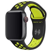Apple pasek sportowy Nike w kolorze czarnym/jaskrawym