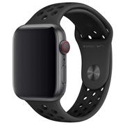 Apple pasek sportowy Nike w kolorze antracytu/czarnym