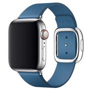 Apple pasek w kolorze szarego błękitu