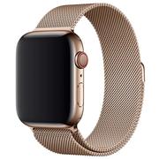 Apple bransoleta mediolańska w kolorze złotym