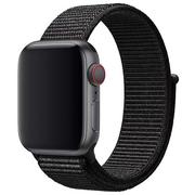 Apple Watch opaska sportowa w kolorze czarnym