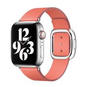 Apple pasek w kolorze różowego cytrusa z klamrą nowoczesną