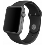 Apple Watch 42mm Black Sport Band with Space Grey Stainless Steel Pin