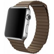 Apple Watch pasek skórzany w kolorze jasnobrązowym