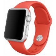 Apple Watch 38mm Orange Sport Band