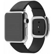 Apple Watch pasek w kolorze czarnym z klamrą nowoczesną