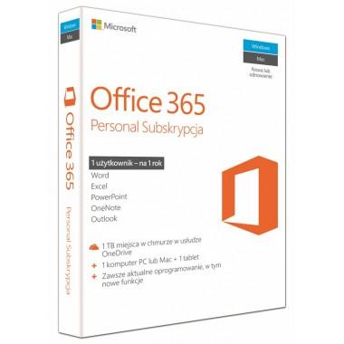 Microsoft Office 365 Personal Win/Mac PL