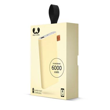 Fresh N Rebel Powerbank 6000 mAh
