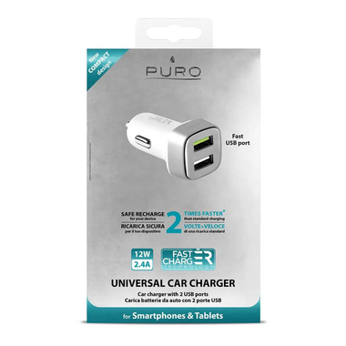 PURO Mini Car Fast Charger