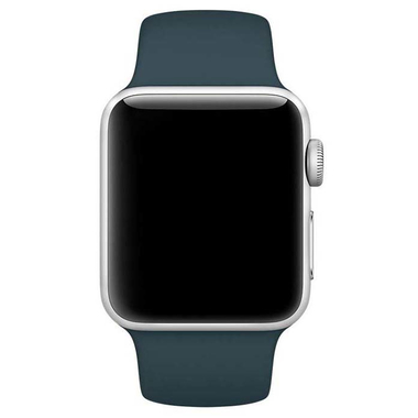 Apple pasek sportowy w kolorze ciemnego turkusu